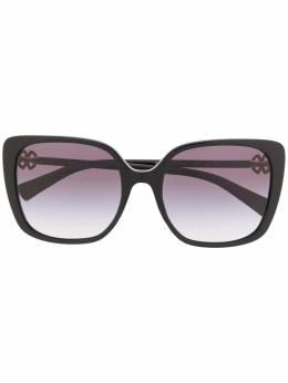 Bvlgari солнцезащитные очки в квадратной оправе BV8225B5018G