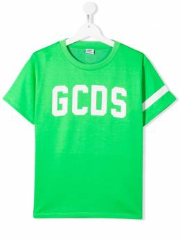 GCDS Kids футболка с логотипом 022522FL