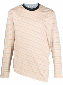 Marni футболка с длинными рукавами и контрастной вставкой HUMU0144A0S23620