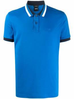 Boss by Hugo Boss рубашка поло Phillipson с контрастной окантовкой 50424189