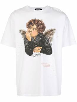 Domrebel футболка с принтом REBELTW