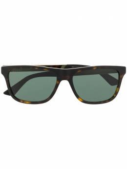 Gucci Eyewear солнцезащитные очки в прямоугольной оправе GG0687S003