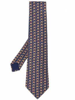Hermes галстук с принтом pre-owned HMES180