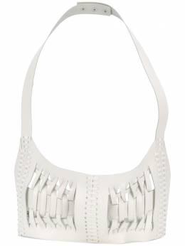 Manokhi плетеная сумка на плечо SS20WHITELISABELTA53MANO225