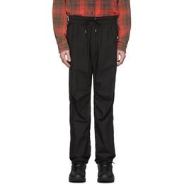 John Elliott Black Himalayan Trousers F031F5210A