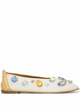 Tory Burch туфли с кристаллами 63515