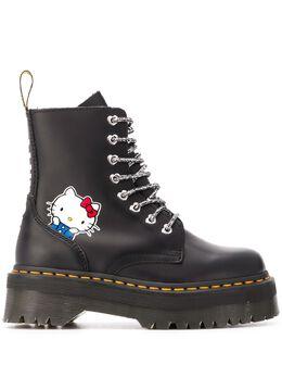Dr. Martens ботинки Hello Kitty на платформе DMSHKJADBSM25913001