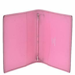 Hermes Pink Epsom Leather Agenda Cover 280208