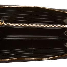 Prada Black Leather Long Wallet 273955