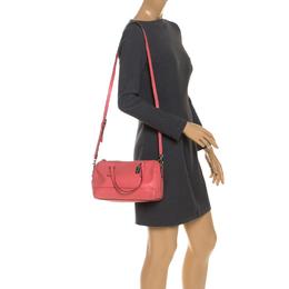 Coach Orange Leather Crossbody Bag 251443