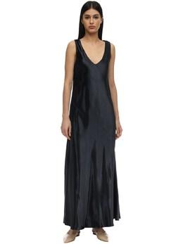 Natasha Viscose Satin Dress The Row 71IX5B007-UFRO0