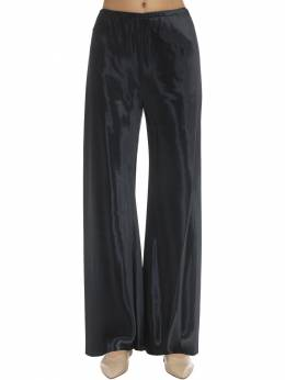 Shiny Viscose Satin Gala Pants The Row 71IX5B001-UFRO0