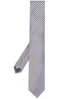Canali галстук с принтом HJ02555