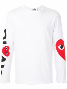Comme Des Garcons Play футболка с логотипом AZT258051