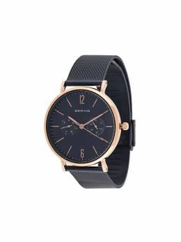 Bering наручные часы с фактурным ремешком 14236367