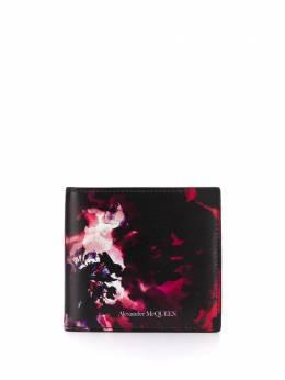 Alexander McQueen бумажник Ink Floral 6021371SK0B