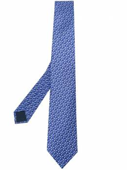 Lanvin галстук с абстрактным принтом CRAVATESCM72867
