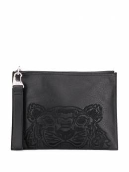 Kenzo клатч с вышивкой Tiger FA55PM302L49