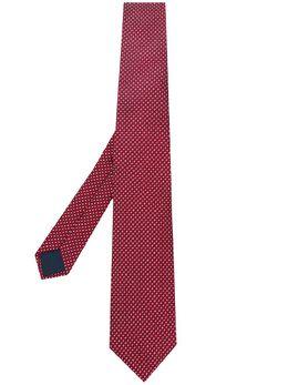 Lanvin галстук с геометричным принтом CRAVATESCM72506