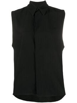 Ami Paris рубашка без рукавов E20FC270422