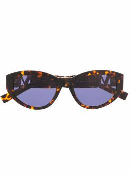 Max Mara солнцезащитные очки Berlin в оправе черепаховой расцветки 20293708652KU