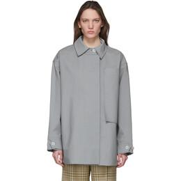 Jacquemus Grey Le Manteau Camiseto Jacket 201CO06-201 16920