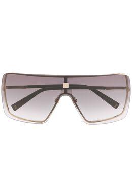 Givenchy Eyewear солнцезащитные очки в квадратной оправе с затемненными линзами 2028302F7999O