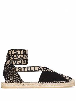 Stella McCartney эспадрильи Gaia с логотипом 800160N0093