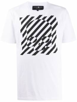 Hydrogen футболка с принтом 260610