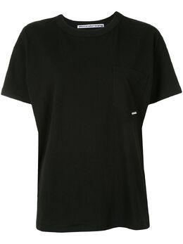 Alexander Wang футболка с нагрудным карманом 1W491144X1