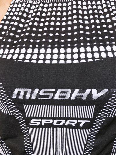 Misbhv топ со вставками без рукавов 020W508 - 5