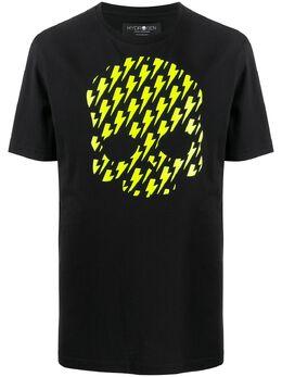 Hydrogen футболка с круглым вырезом и принтом 260608