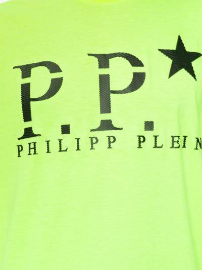 Philipp Plein футболка с логотипом P20CMTK4286PJY002N - 5