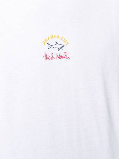 Paul & Shark logo print T-shirt E20P1427 - 5