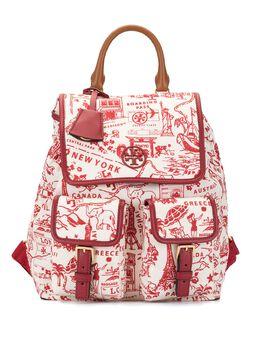 Tory Burch рюкзак Perry с принтом 74458