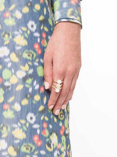 Tory Burch кольцо Kira с жемчугом 65182 - 2