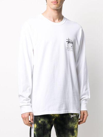 Stussy футболка с длинными рукавами и логотипом 1994525 - 3