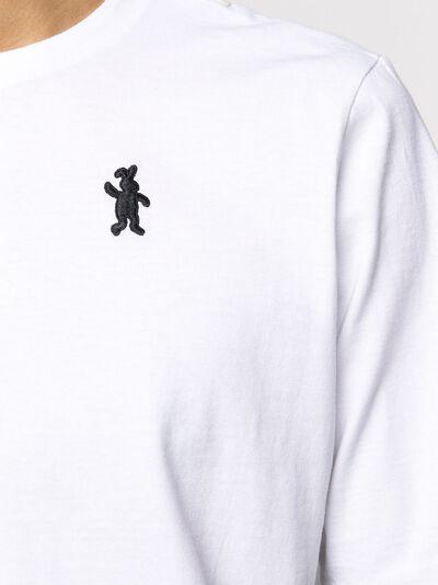Marni футболка с вышитым логотипом HUMU0157A0S22763 - 5