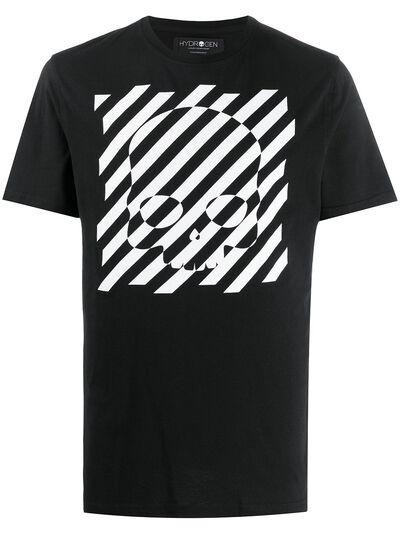 Hydrogen футболка с принтом 260610 - 1
