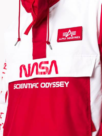 Alpha Industries анорак Scientific Odyssey с капюшоном 126134 - 5