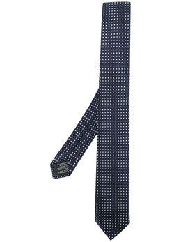 Z Zegna галстук в горох Z7Z031SV