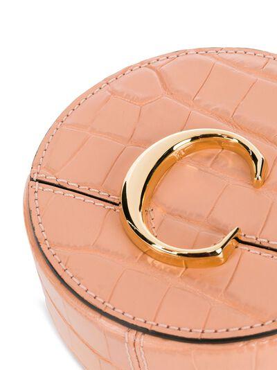 Chloe маленькая сумка через плечо с логотипом CHC20UP500A87 - 4