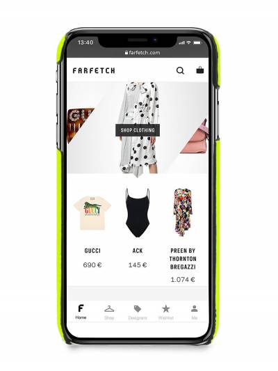 Valentino чехол для iPhone X/XS TY0P0379SFD - 2