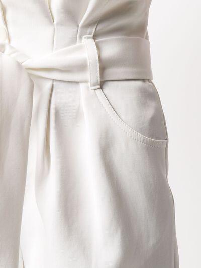 Iro шорты с завышенной присборенной талией 20SWM30EPINAC - 5
