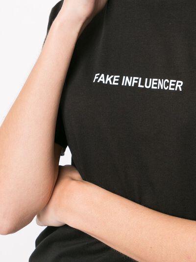 Boyarovskaya футболка Fake Influencer TSSS20FAKEINFLUENCER - 5