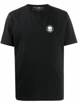 Hydrogen футболка с нашивкой-логотипом 260130