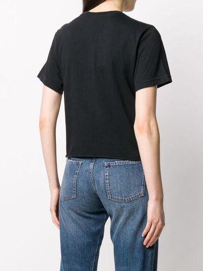 Local Authority укороченная футболка с принтом Wild Child S20SSN02 - 4