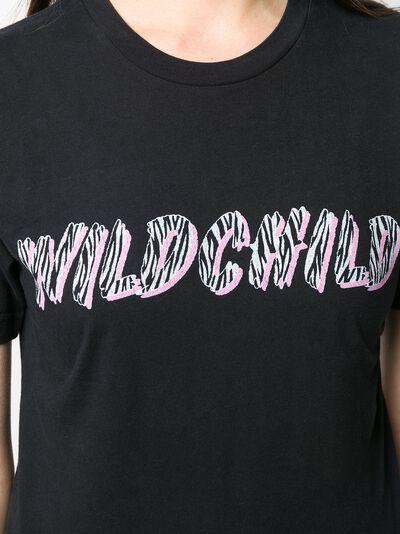 Local Authority укороченная футболка с принтом Wild Child S20SSN02 - 5