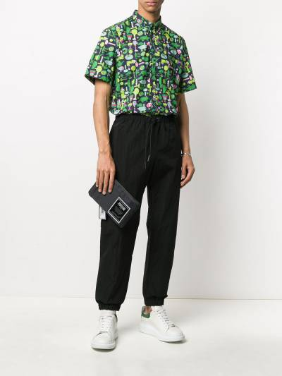 Versace Jeans Couture клатч с логотипом и съемным ремешком E3YVBP8071507 - 2