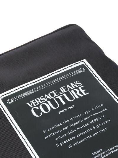 Versace Jeans Couture клатч с логотипом и съемным ремешком E3YVBP8071507 - 4